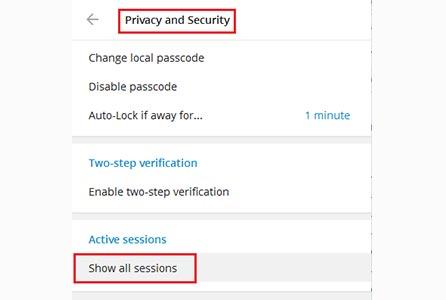 آموزش حذف اکانت تلگرام طلایی