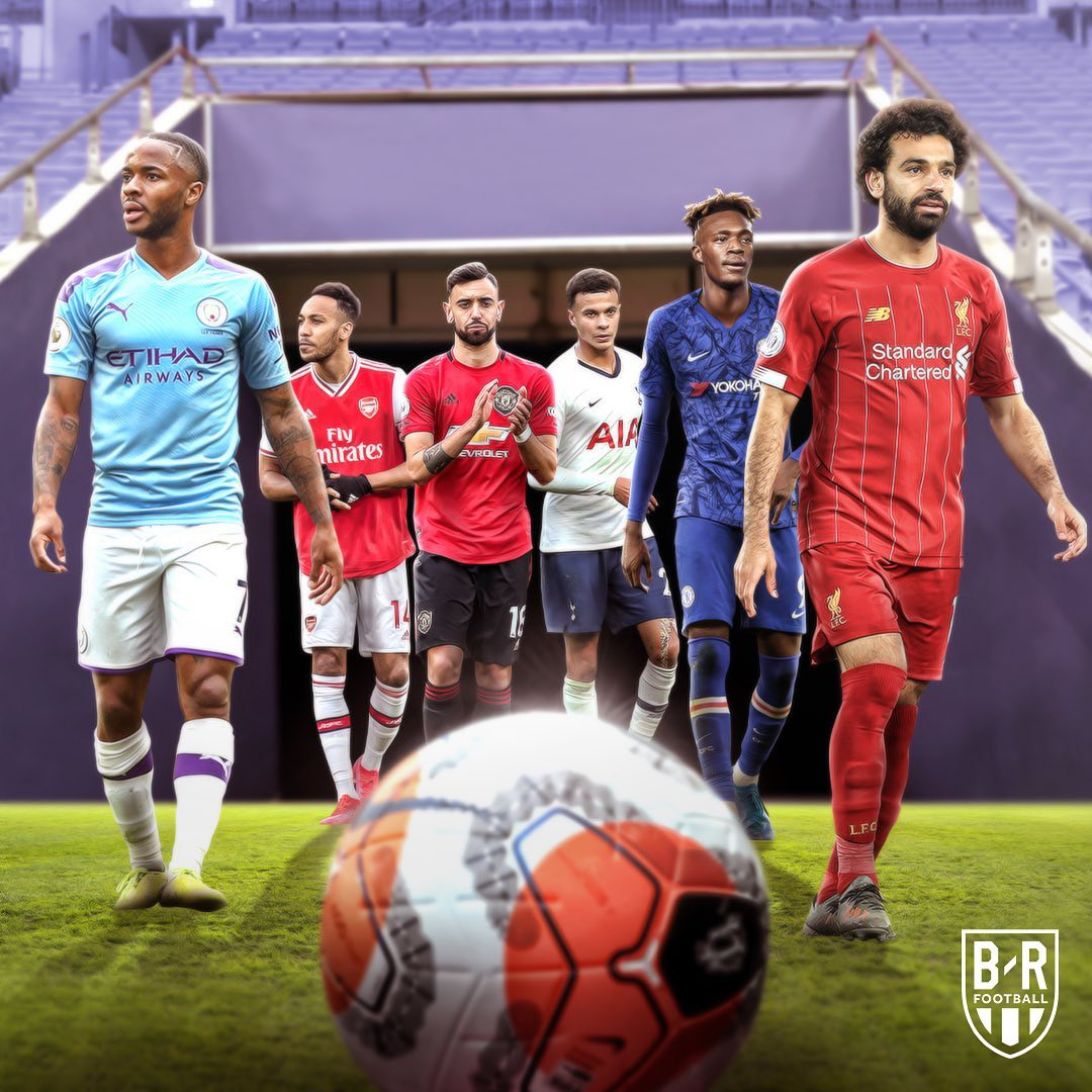 بازگشت تیمهای لیگ برتر انگلیس به فوتبال