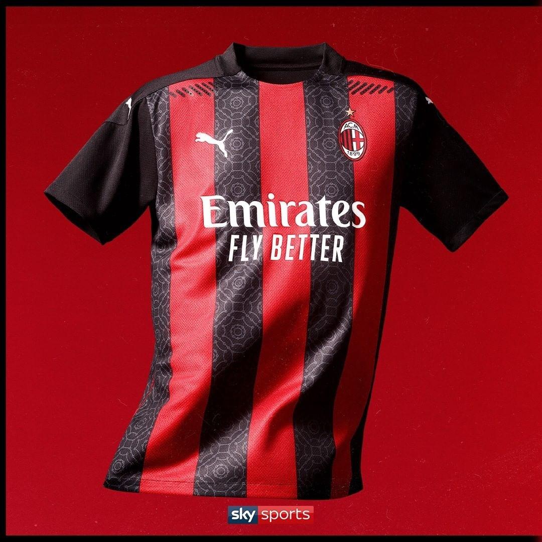 رونمایی از لباس زیبای تیم آث میلان در فصل 2020/2021