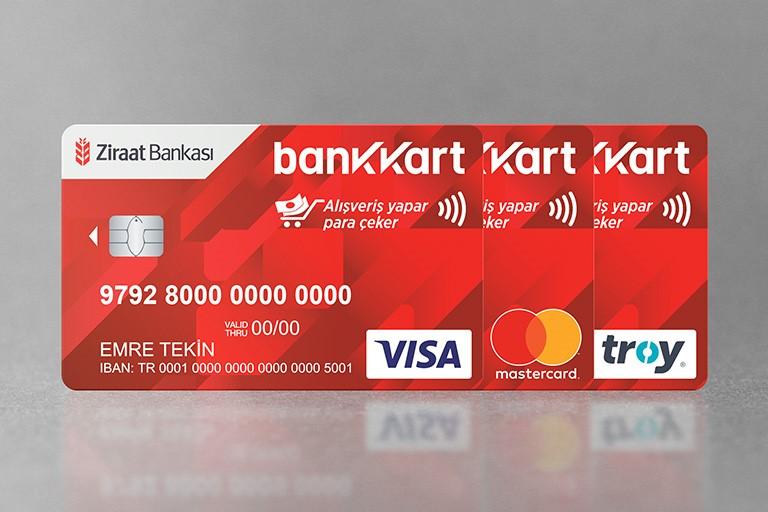 کارت بانکی زراعت بانک ترکیه