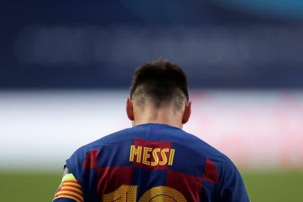 لو رفتن متن فکس لیونل مسی و درخواست رسمی جدایی از بارسلونا