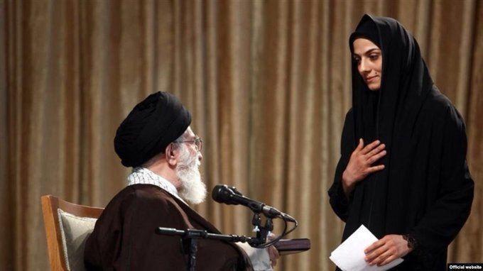 مدال مریم هاشمی از مقام معظم رهبری پس گرفته می شود؟