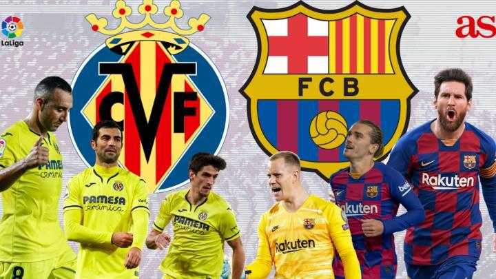 پخش زنده بازی بارسلونا و ویارئال