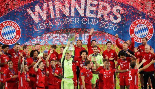 European Super Cup – Bayern Munich v Sevilla