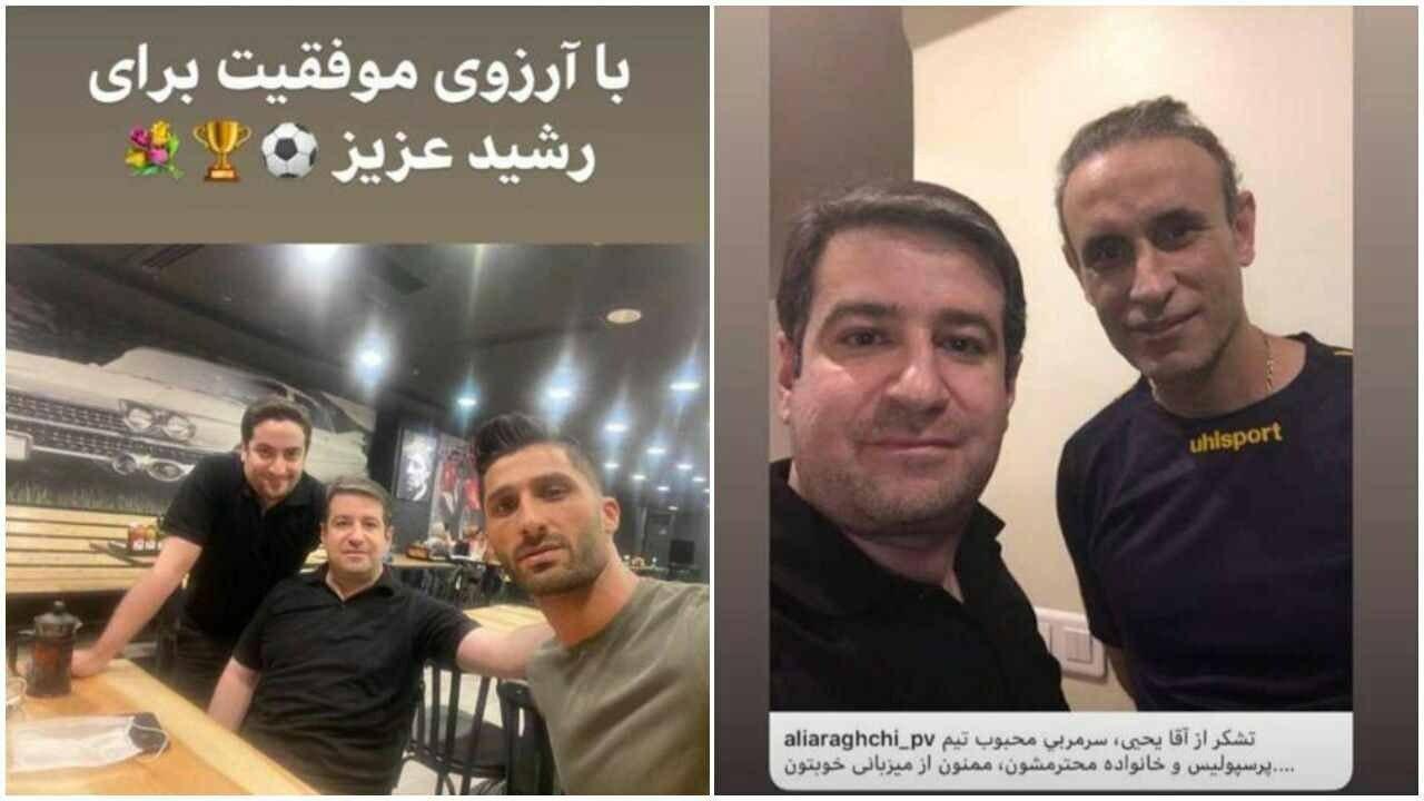 عکس جنجالی از دیدار برادرزاده عراقچی و گل محمدی | پای رشید مظاهری در میان است؟