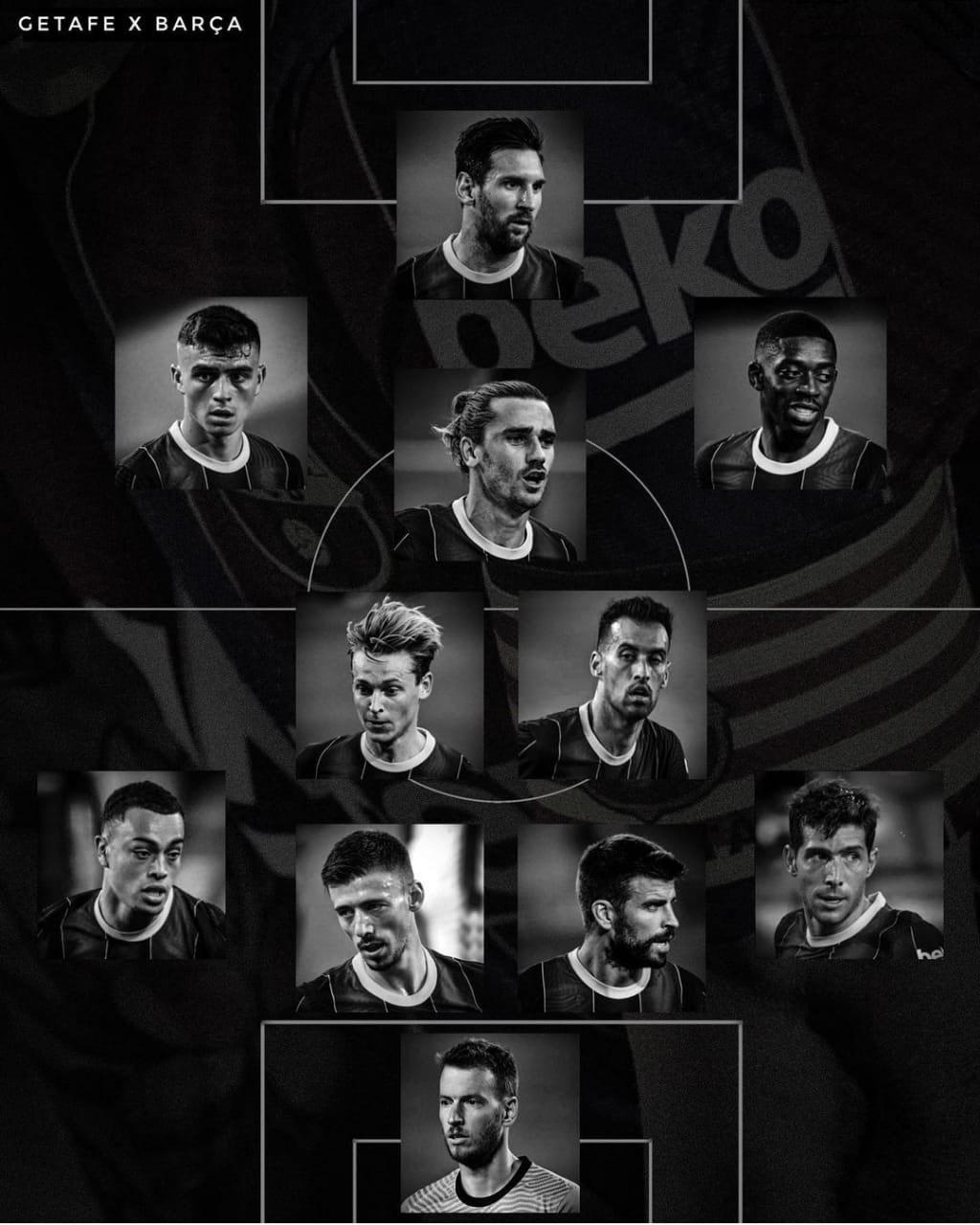 سیستم بازی بارسلونا با رونالد کومان