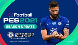 Graphic Menu Chelsea PES 2021 For PES 2017