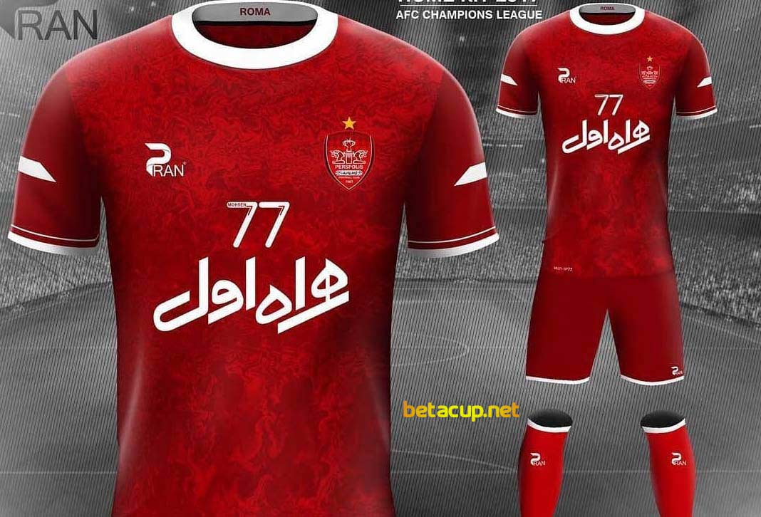 اتفاق عجیب در مورد پیراهن های جدید پرسپولیس در لیگ برتر