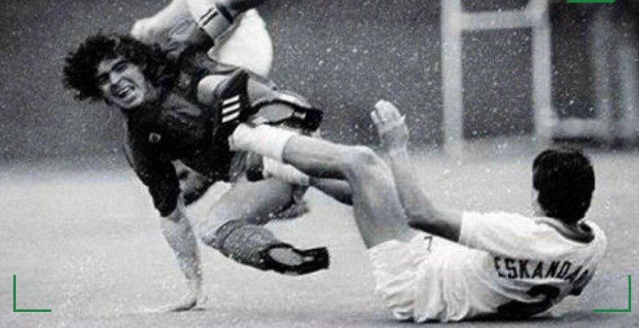 آندرانیک | تنها بازیکن ایرانی که مارادونا را شکست داد