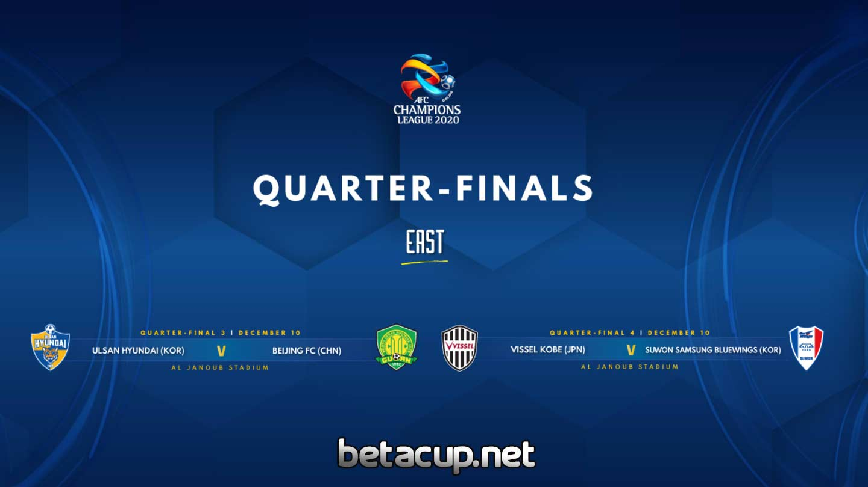 نکات جالت قرعه کشی یک چهارم نهایی لیگ قهرمانان آسیا 2020 منطقه شرق