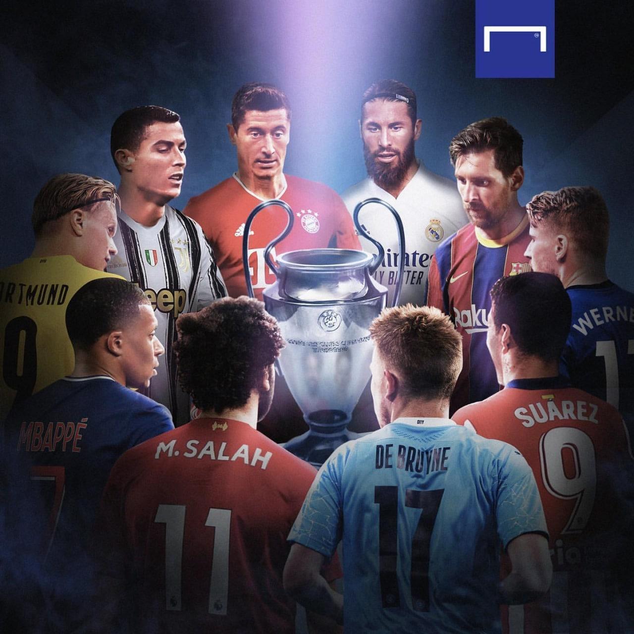 قرعه کشی مرحله یک هشتم نهایی لیگ قهرمانان اروپا 2020/2021