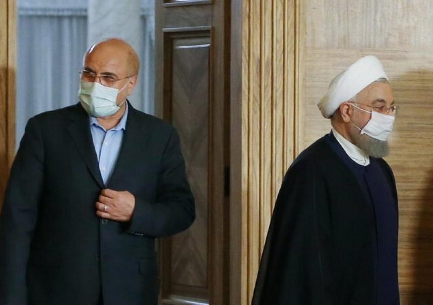 حمله طوفانی و تند رئیس مجلس به حسن روحانی: مردم را فریب ندهید/ پول را به جیب دلالان نریزید