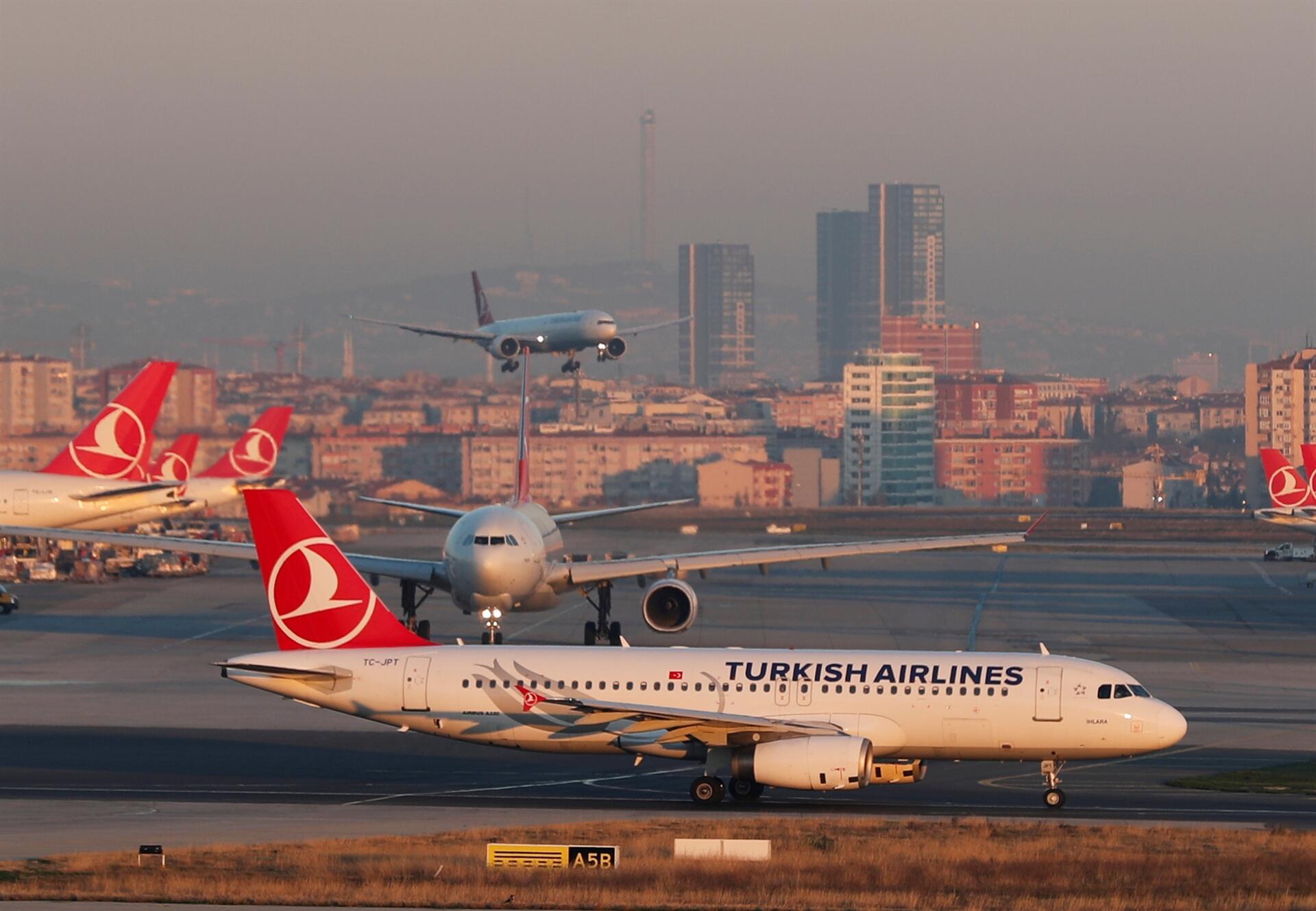 علت آژیر خطر امروز در غرب تهران پرواز ترکیش ایرلاین بود؟
