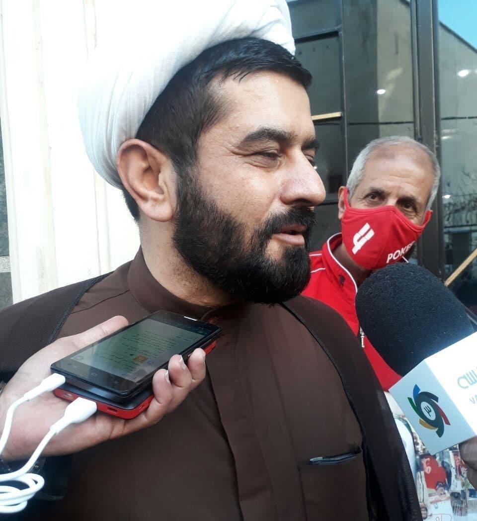 عکس ستار عبدی پور روحانی که برای ریاست فدراسیون فوتبال ثبت نام کرد