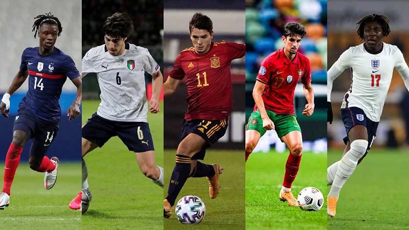 پخش زنده مسابقات قهرمانی اروپا زیر 21 ساله ها (U21)
