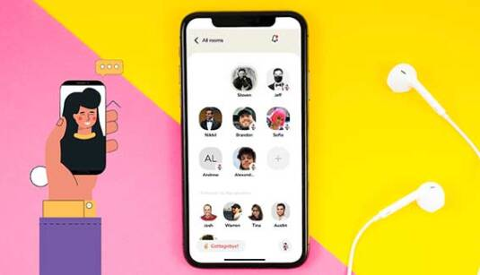 Clubhouse-voice-chat-social-network