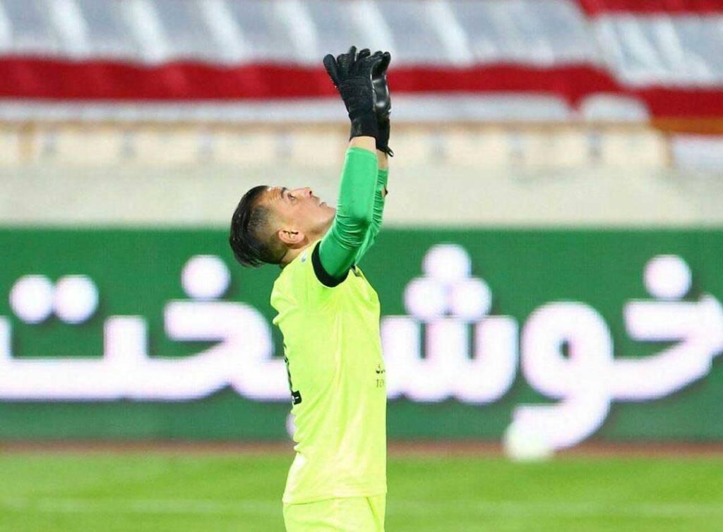 حامد لک دو بازی تا شکستن رکورد تاریخی بیرانوند