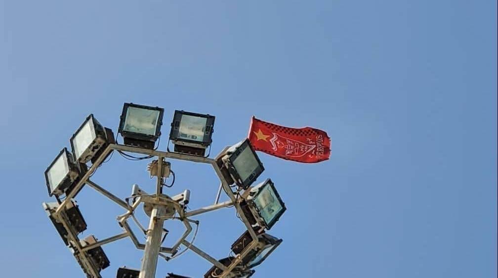 ماجرای به اهتزاز در آمدن پرچم چین در جزیره قشم: کار پرسپولیسی ها بود!