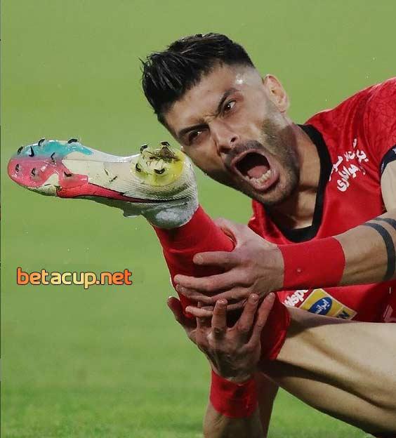 تلفات سنگین بازی پرسپولیس و نساجی | بازیکن بدون جانشین پرسپولیس کرونا گرفت