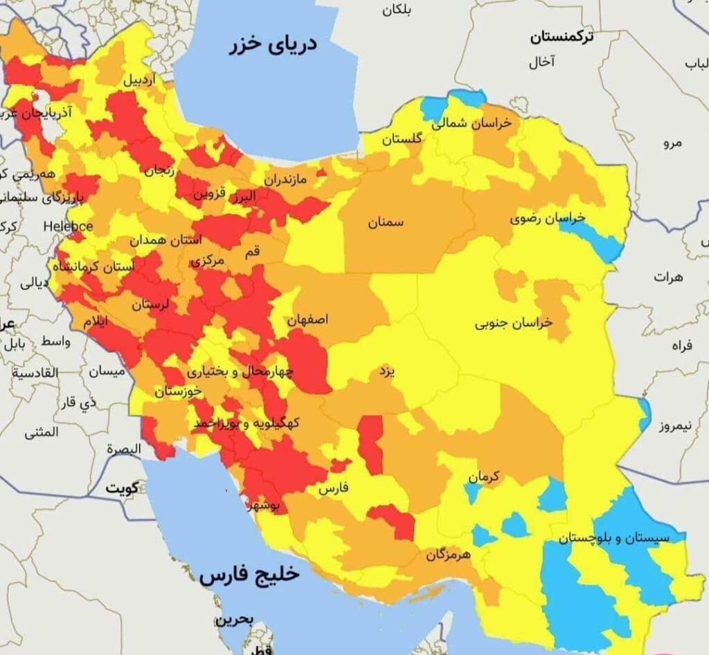تهران در وضعیت قرمز کرونایی قرار گرفت | بازی پرسپولیس لغو می شود؟