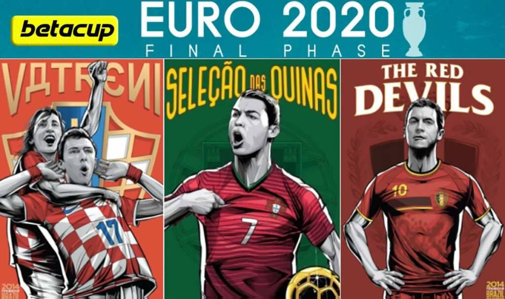 پوستر هدر بازی های یورو 2020