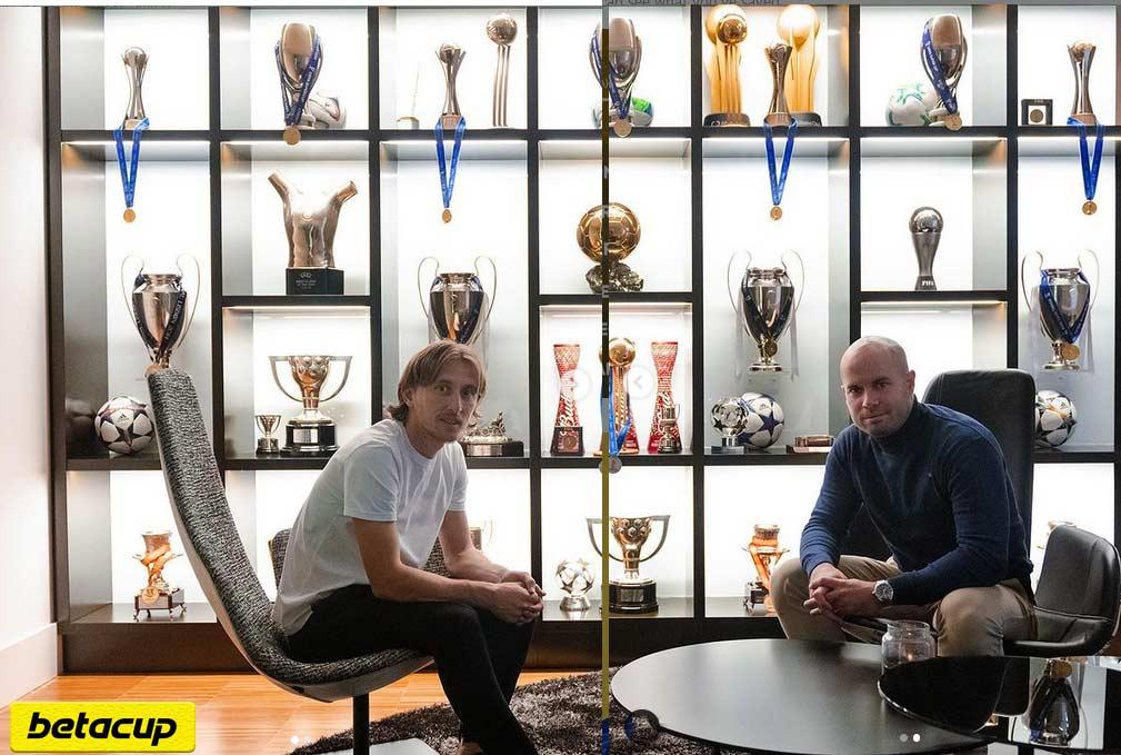ویترین افتخارات تیمی و فردی شگفت انگیز لوکا مودریچ