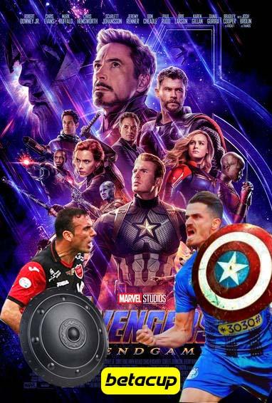طرح وریا غفوری و سیدجلال حسینی در فیلم Avengers