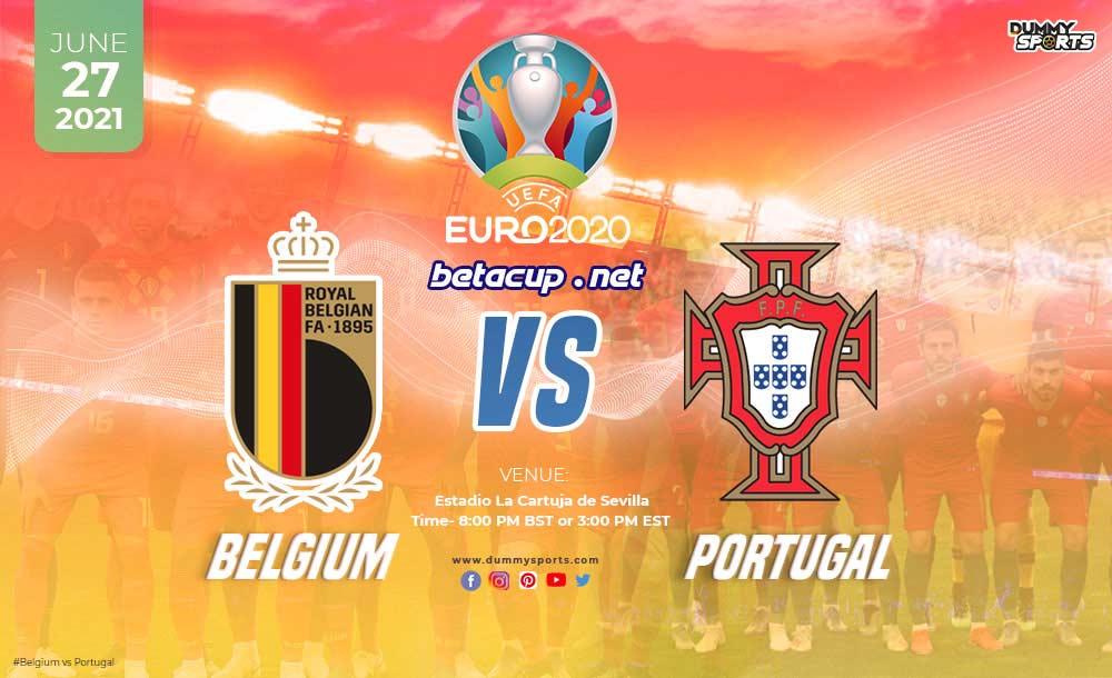 پخش زنده بازی بلژیک و پرتغال امشب از اپلیکیشن بتاکاپ
