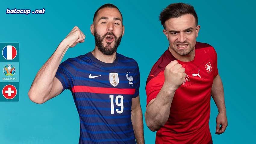 پخش زنده بازی سوئیس و فرانسه امشب یورو 2020