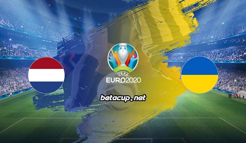پخش زنده بازی هلند و اوکراین از اپلیکیشن بتاکاپ