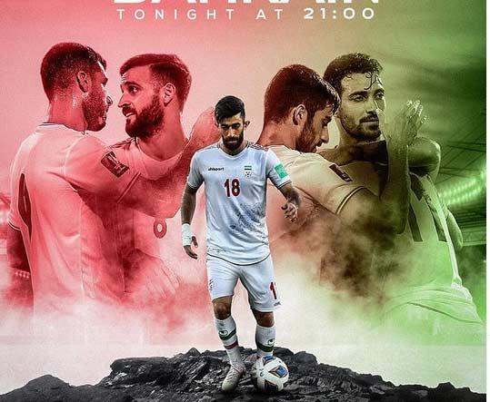 ترکیب تیم ملی ایران مقابل بحرین   مقدماتی جام جهانی 2022 قطر