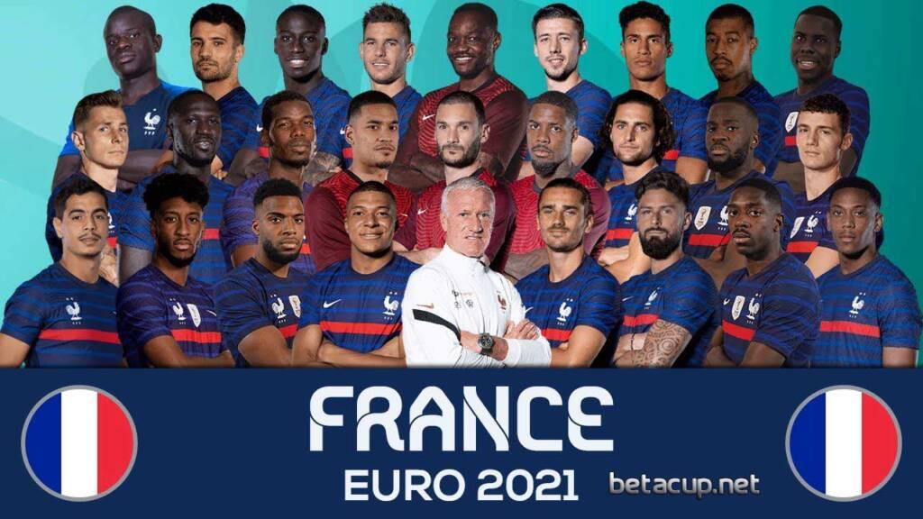 عکس تیمی فرانسه برای یورو 2020