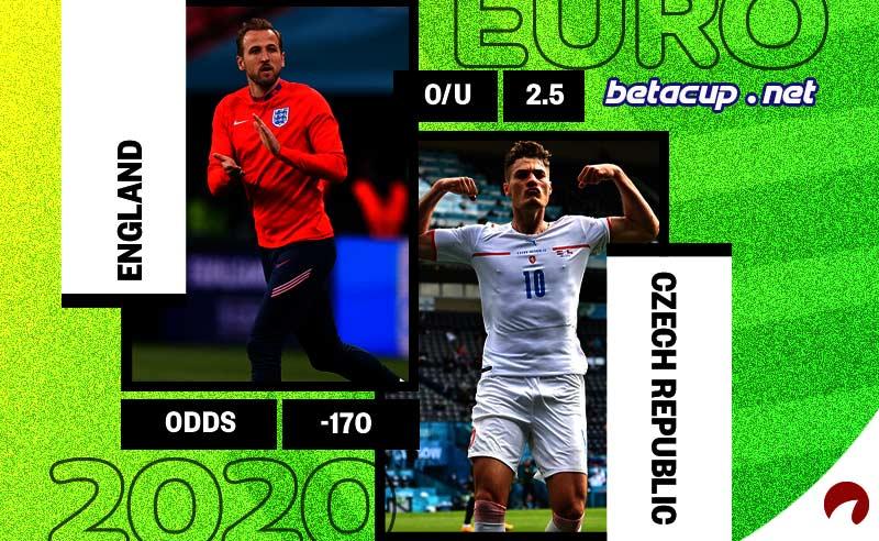 پخش زنده بازی انگلیس و جمهوی چک امشب | یورو 2020