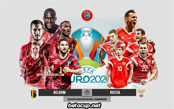 پخش زنده بازی بلژیک و روسیه | یورو 2020