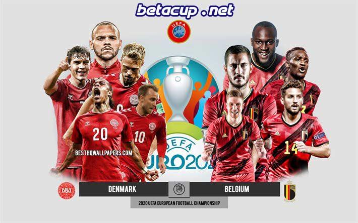 پخش زنده بازی بلژیک و دانمارک یورو 2020