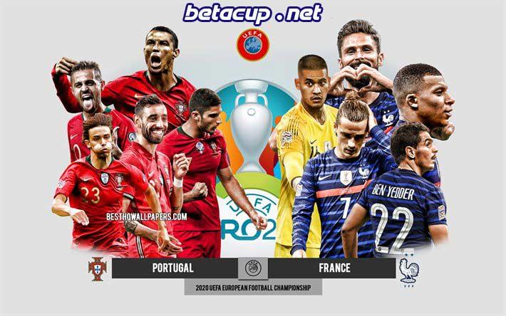 پخش  زنده بازی فرانسه و پرتغال امشب | یورو 2020