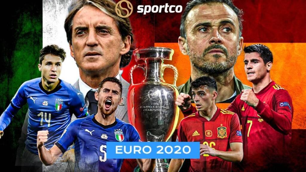پخش زنده بازی ایتالیا و اسپانیا یورو 2020 امشب از اپلیکیشن بتاکاپ