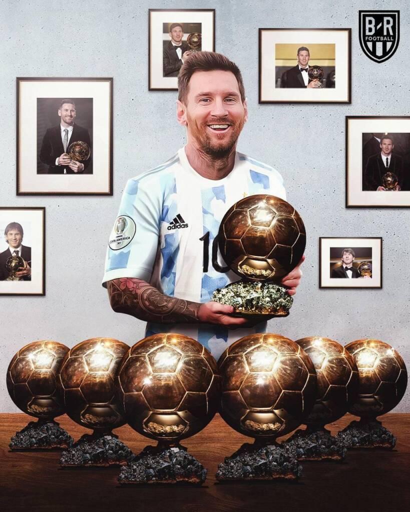 گام بلند لیونل مسی برای کسب هفتمین توپ طلا در سال 2021
