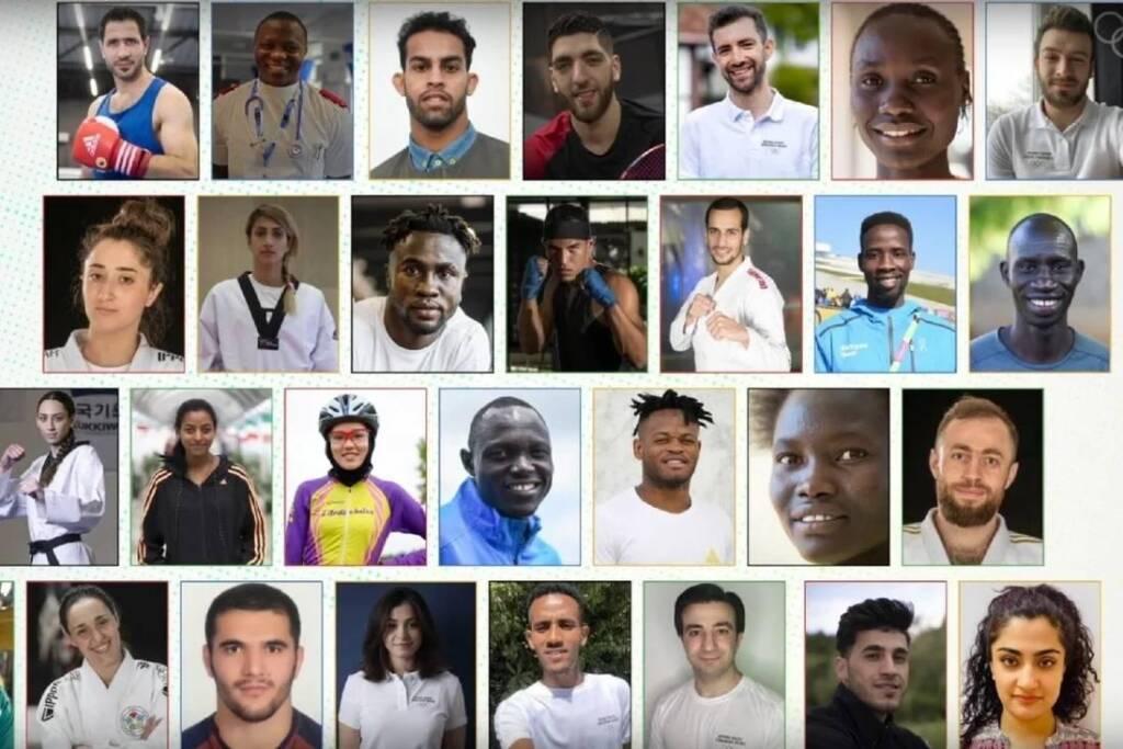 اسامی و عکس 5 ورزشکار ایرانی تیم پناهندگان المپیک