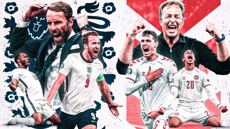 پخش زنده بازی انگلیس و دانمارک امشب از اپلیکیشن بتاکاپ