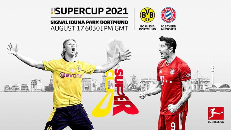 پخش زنده بازی بایرن مونیخ و دورتمند امشب | سوپرجام آلمان 2021