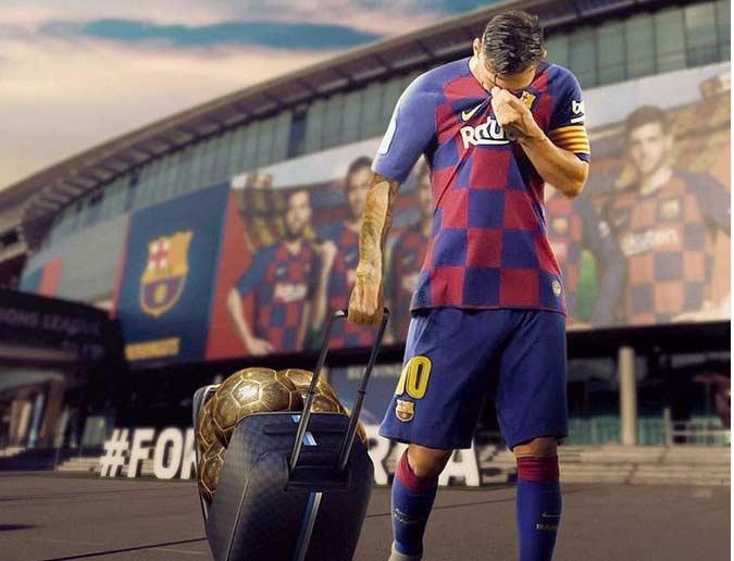 رسمی | لیونل مسی از بارسلونا جدا شد