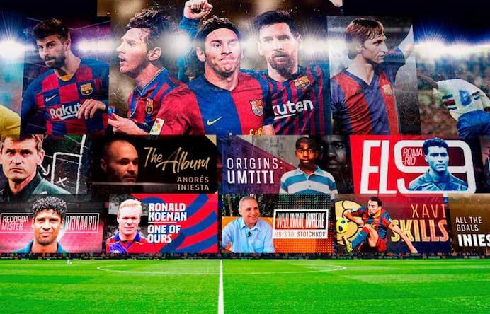 پخش زنده بازی بارسلونا امشب از اپلیکیشن بتاکاپ