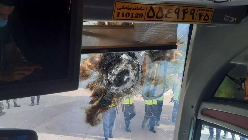 حکم دادگاه برای دو مهاجم به اتوبوس پرسپولیس: ۴ سال حبس