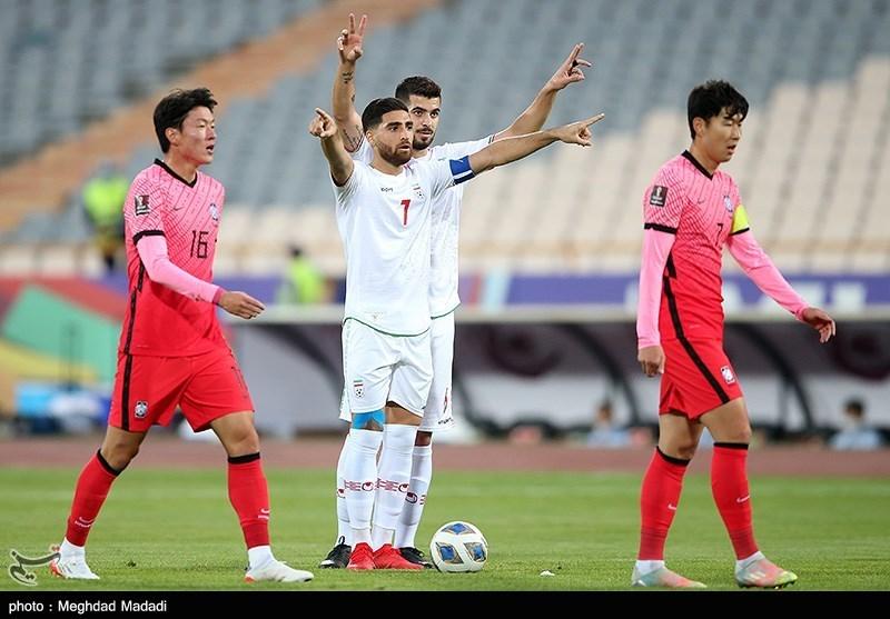 ایران (1-1) کره جنوبی   روزی که پیراهن شماره 8 برای نوراللهی گشاد بود!