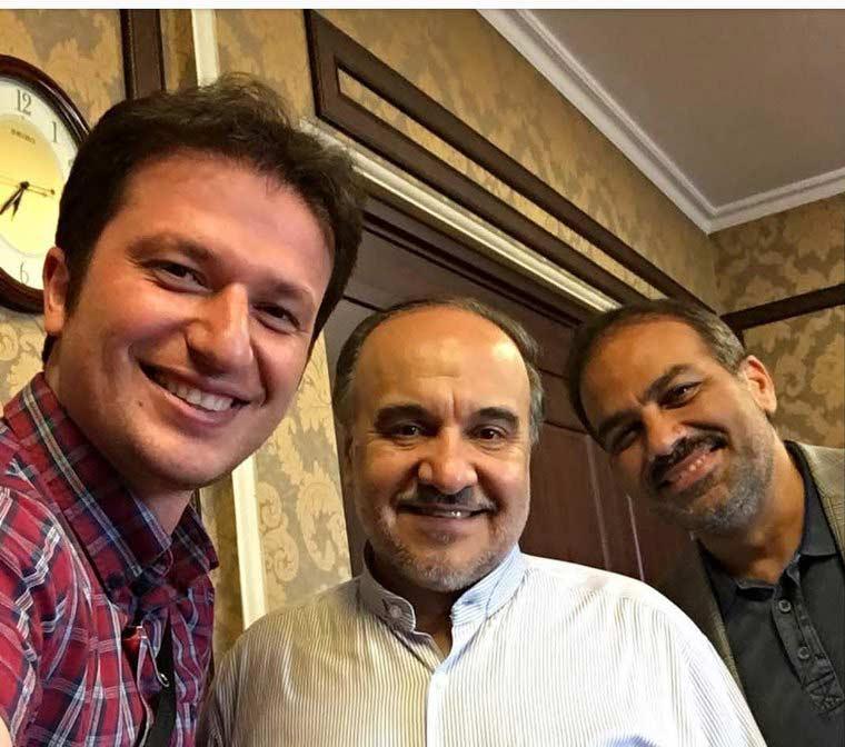 عکس علی عالی با وزیر ورزش