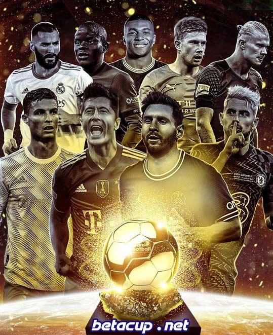 اعلام لیست نامزدهای توپ طلای 2021 (Ballon d'Or)