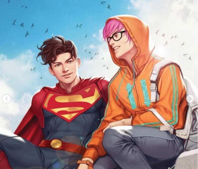 سوپرمن جدید همجنسگرا از آب درآمد